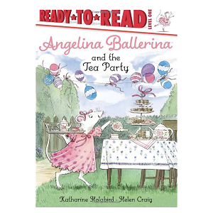 Pirouette into Angelina Ballerina's enchanting world and join her for a tea party in this Level 1 Ready-to-Read!  Angelina is hosting a tea party for all her friends from the ballet academy! There are cookies, cakes, and beautiful decorations. Will it be the best tea party ever?  This paperback edition comes with two sheets of stickers!