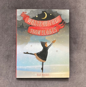 A new holiday classic to add to your collection, this gorgeous wordless picture book by esteemed author-illustrator Elly MacKay celebrates the magic of theater and The Nutcracker as seen through the eyes of a young girl and her grandmother.  It is a cold and rainy evening when Gran gives her granddaughter something special: tickets to the ballet. Her granddaughter is reluctant to go. The weather is terrible and they have to wear fancy, uncomfortable clothes. But as the curtains rise on The Nutcracker, the girl's eyes light up as she's introduced to the magic of the theater. The bright costumes, the intricate dances, the magical music, and a new friend all combine to captivate the girl and to bring color to an otherwise dreary evening.  Waltz of the Snowflakes is Elly MacKay at her finest, mixing her acclaimed paper-cut artwork with vibrant colors in this whimsical, dreamlike, and inspiring wordless picture book. A must-have for any ballet- and theater-obsessed reader and the perfect gift to be shared during the holidays or any time of year when the world outside needs a little bit of color and vibrancy.