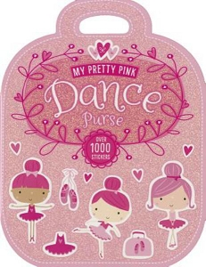 209781783938292 My Pretty Pink Dance Purse Books (2pc.) With 1000+ Stickers! $9.99 Cover Price