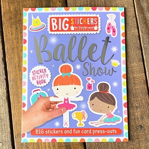 Introducing a fantastic first sticker book for young children to enjoy!  Packed with simple activities and big stickers that are perfect for little hands. With card press-outs and delightful illustrations, there is plenty of fun to be had!