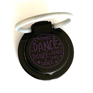 g403 Purple DANCE Print Phone Stand/Ring (ea.)