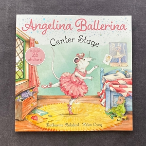 Join everyone's favorite dancer Angelina Ballerina as she choreographs an enchanting dance recital in this adorable 8x8 storybook that comes with a sheet of stickers!  It's almost time for the spring recital! But when Miss Lilly sprains her ankle, Angelina Ballerina is asked to be the choreographer, which means giving up the lead role in the recital. Angelina is upset for Miss Lilly, but is honored to have been chosen for this big role. And as they say in show business, the show must go on!