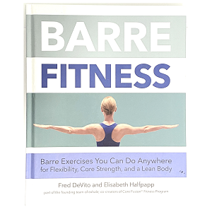 Step up to the barre and strengthen your core with 100 at-home barre exercises!  Infused with elements of ballet, barre classes were introduced by Lotte Berk in the 1970s as a new way to combine dance with traditional exercise. Just about any barre class will involve a lot of reps of small, pulsing movements (lifting and lowering limbs a mere inch or two) at the barre, with a heavy focus on the legs, glutes, and core and emphasis on form and alignment.  Barre Fitness provides 100 at-home barre exercises from the fundamentals to more complex moves with a focus on building strength and improving technique--no barre required! Trained at the ground floor of the prestigious Lotte Berk Method NYC (where barre fitness originated), Fred Devito and Elisabeth Halfpapp bring first-generation teaching and training experience and the acclaim of the Core Fusion(R) brand to this guide to at-home exercise, geared toward your fitness goals.  This book breaks down the set ups, progressions, and sequences for all of the classic barre exercises to empower you to perform them at home with clear photographs and easy-to-follow descriptions and program routines. Each exercise explains the benefits and how they can be combined for different results. Learn how to integrate these barre exercises into your daily workout routine, while mindfully incorporating healthy eating and stress reduction habits, for living a healthier lifestyle regardless of your age or fitness level.  Whether you want to tone and shape your muscles (without gaining muscle mass), build your core strength, lose weight, increase flexibility, combat aging, rehab from injury, or supplement your current fitness routine (or any combination of these), Barre Fitness offers the solutions you're looking for.