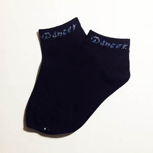 s06 Size 6-8 Black DANCER Socks (pr.)