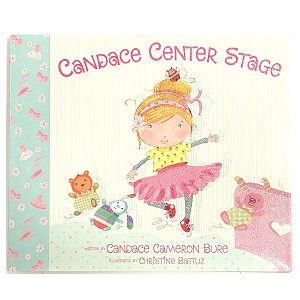 Written by Candace Cameron Bure, New York Times bestselling author and star of the hit TV series Full House and Fuller House, this charming, laugh-out-loud picture book tells the story of a little girl who quickly realizes one thing after her mother signs her up for ballet lessons . . . she's no ballerina.  As Candace moves and grooves across the floor, she topples all the ballerinas in her path. Her teacher, Miss Grace, tries to teach her proper ballet positions, but Candace is more interested in shakes and shimmies than plies and pas de bourrées. When disaster strikes during the big recital, can ungraceful Candace step up and save the day?
