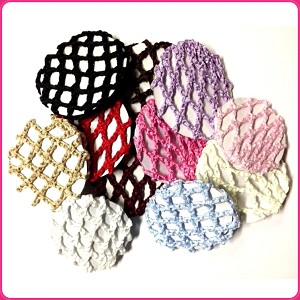 Keep your young dancer's hair neatly in a bun with these high quality bun covers.